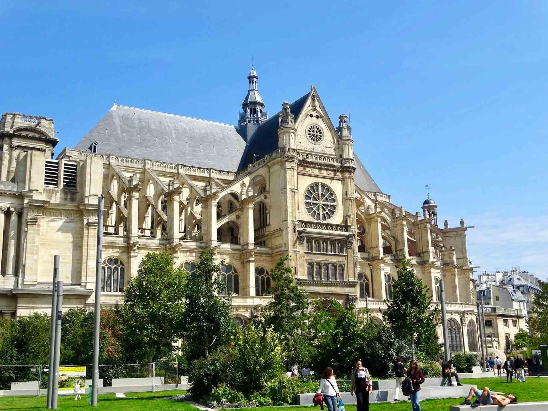 Walking Tour Saint Eustache Paris
