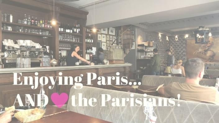 Enjoying Paris... AND the Parisians!